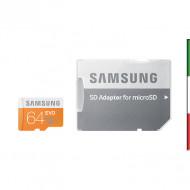 SD Memory Card MICRO 64Gbyte SAMSUNG EVO PLUS CL10