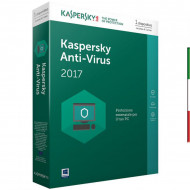 SOFT. KASPERSKY ANTIVIRUS BASE 2017 1PC Windows Vista - Xp -WIN7/8/10 - 1 PC