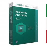 SOFT. KASPERSKY ANTIVIRUS BASE 2017 3PC Windows Vista - Xp -WIN7/8/10 - 3 PC