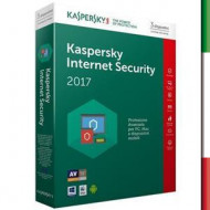 SOFT. KASPERSKY INTERN SECURITY 2017 3PC per Windows Vista - Xp - Win7/ WIN10 Per 1Pc