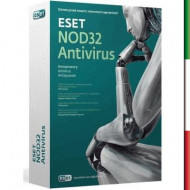 SOFTWARE ANTIVIRUS NOD 32  SYSTEM 2PC COMPATIBILE WIN2000-XP-VISTA-WIN7 32/64