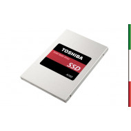 SSD-SOLID STATE DISK 2.5 120GB SATA3 TOSHIBA A100 THN-S101Z1200E8 READ:550MB/S-WRITE:480MB/S