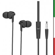 Auricolari stereo con microfonocompatibile con iPhone , iPad , Blackberry , Samsung , HTC ed alcuni cellulari con jack 3.5mm 3 m