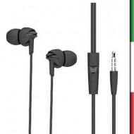 Auricolari stereo con microfonocompatibile con iPhone , iPad , Blackberry , Samsung , HTC ed alcuni cellulari con jack 3.5mm 3 m