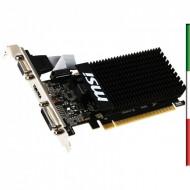 SVGA MSI N710-2GD3H-LP NVIDIA GT710 ATTIVA 2GD3 PCIE2.0 DVI D-SUB HDMI 2560X1600 DX12