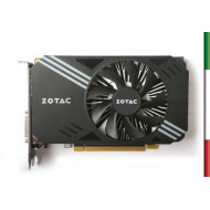 SVGA ZOTAC ZT-P10600A-10L NVIDIA GTX 1060 6GB DDR5 PCIE3.0 DVI HDMI 3XDP DUAL-SLOT ATTIVA