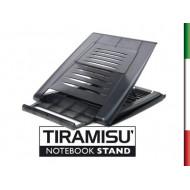 Tiramisù Notebook Stand  Tiramisù è un pregiato oggetto di design, ideato, progettato e realizzato interamente in Italia, studia