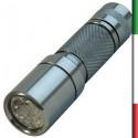 TORCIA 9 LED ALLUMINO Mix Color