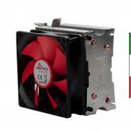 ventola CPU Misura 97x77x124 e ha un peso di 360g Il voltaggio è di 12 VDC Corrente: 0.13Amp Questa ventola è compatibile con In