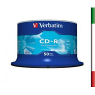 VERBATIM CD-R 700MB 52X SPINDL 50 pack