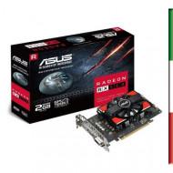 SVGA ASUS RX550-2G AMD RX550 2GDDR5 128BIT DVI-D HDMI DP HDCP OPENGL4.5 5120X2880 2-SLOT 90YV0AG1-M0NA00