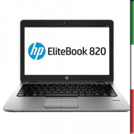 NOTEBOOK HP ELITEBOOK 820 G1 USATO  PRIMA SCELTA GRADE A e KIT TASTIERA ITALIANO ELITEBOOK 820 G1  - DISPLAY 12 HD -  INTEL I5-4