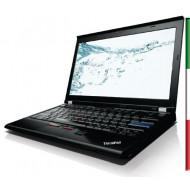 NOTEBOOK LENOVO X220 USATO  PRIMA SCELTA GRADE A e KIT TASTIERA ITALIANO  - INTEL I5-2520  - RAM 4G - HDD 320GB 7200rpm-  SVGA I