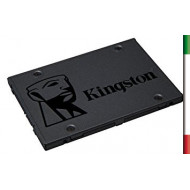 "SSD-SOLID STATE DISK 2.5"" 240GB SATA3 KINGSTON SA400S37/240G READ:550MB/S-WRITE:350MB/S"