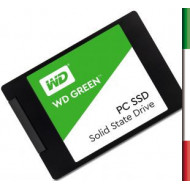 HDD SSD-SOLID STATE DISK 2.5 240GB SATA3 WD GREEN WDS240G1G0A READ:540MB/S-WRITE:405MB/S