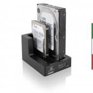 BASE USB 2*HDD SATA 2.5/3.5 USB3.0 CLONIG Software Back-Up