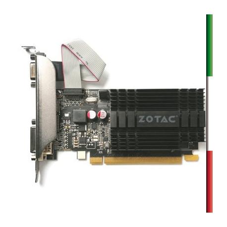 SVGA ZOTAC ZT-71301-20L NVIDIA GT 710 1GB DDR3 PCIE2.0 64BIT DVI HDMI VGA DIRECTX12 OPENGL4.5