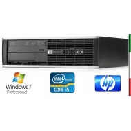 PC  HP ELITE 8200 SLIM USATO  PRIMA SCELTA GRADE A - INTEL QUAD CORE  I5-2400 - SVGA INTEL HD2000  - 4GB RAM - HD 250GB 7,2  - D