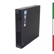 PC LENOVO SLIM M92P USATO  PRIMA SCELTA GRADE A  - INTEL I5-3470T  - RAM 4GB - USB3,0 -  HDD 320GB 7,2G - WINDOWS 10 PROFESSIONA